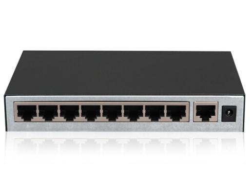 H3C Magic S9E-P,9口百兆PoE交换机 整机POE供电功率57w(8+1端口)