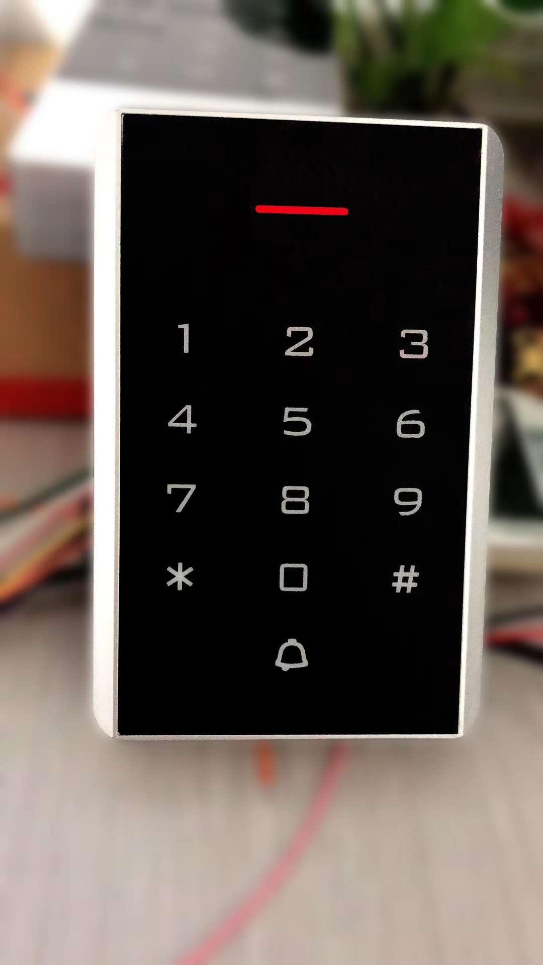 郑州安可通门禁机AKT-K1201EM/MF 管理卡门禁刷卡 密码,支持数据拷贝,可做读卡器 可做一体机