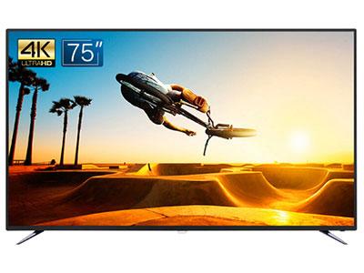 飛利浦  75PUF6393/T3 75英寸4K超高清HDR 人工智能語音 影院大屏 金屬邊框 2級能效 網絡智能液晶電視機