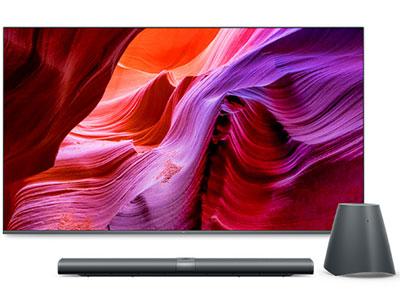 小米  電視壁畫電視 75英寸 4K超高清HDR 藍牙語音遙控 人工智能語音 液晶平板電視