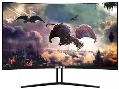 韩国现代G2715Q(27寸) 屏幕尺寸:27英寸 产品类型:曲面显示器 产品定位:电子竞技 屏幕比例:宽屏16:9 面板类型:TN面板 视频接口:HDMI+DP 最佳分辨率:1920x1080 灰阶响应时间:6.5ms 亮度:300cd/㎡ 显示颜色:16.7M 扫描频率:165HZ