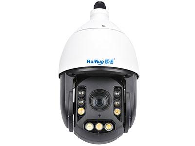 辉诺 AI智光(全彩)警戒跟踪球机 采用高性能200万逐行扫描CMOS图像传感器,能捕捉清晰的动态画面 18倍光学变倍 夜视全彩,清晰度高,色彩还原度高。一共采用9颗暖光灯,分为三组灯光(3颗近光灯+2颗中灯+4颗远光灯)。采用智能算法,让球机的灯光可以根据环境的亮暗程度自动变换灯光的亮度,使夜视效果更通透,目标更清晰,不会出现传统红外球机因光线太强而过爆的现象,同时根据机芯的焦距自动切换近红中远三组灯光,实测80米可以看清人脸。 支持自动聚焦、自动白平衡、手动白平衡,支持饱和度设置、对比度设置、锐度设置、亮度设置、背光补偿设置、透