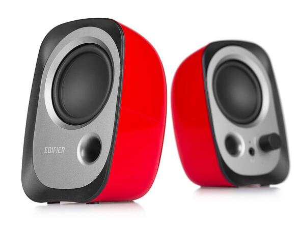 漫步者(EDIFIER)R12U 外观时尚、音质纯正的入门级微型2.0桌面音响