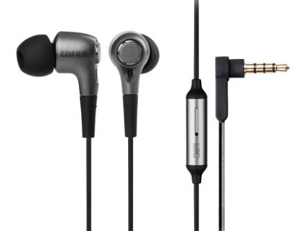 EDIFIER/漫步者 H230P手机耳机入耳式重低音炮通用有线控耳塞带麦