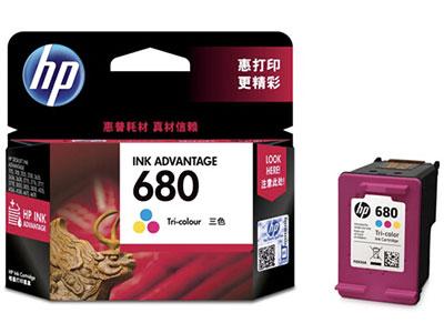 惠普 F6V26AA 680彩色墨盒(适用HP DeskJet 5078 5088 2138 3638 3636 3838 3777 3778 4678 4538)