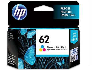 惠普(HP) 62号 原装墨盒(适用于HPOJ 200/258 移动打印机) 62c号彩色标准容量(约165页)