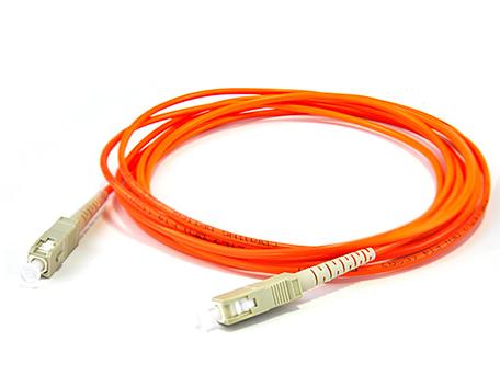 腾飞SC-SC 多模单芯光纤跳线 收发器尾纤 电信级 3米