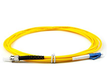 腾飞ST-LC 单模单芯光纤跳线 尾纤收发器 电信级3米