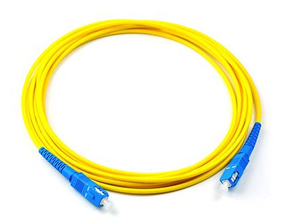 腾飞SC-SC单模单芯光纤跳线 收发器 尾纤 电信级3米