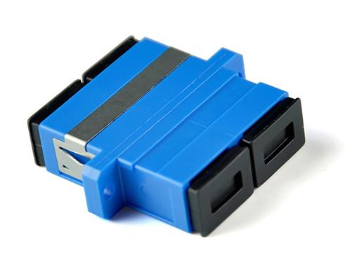 腾飞光纤适配器 电信级 光纤跳线耦合器 SC双工四联适配器