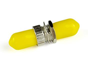 腾飞ST单模光纤适配器 一体金属适配器 光纤耦合器光纤适配器