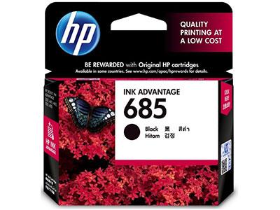 惠普    685黑 黑色墨盒CZ121AA
