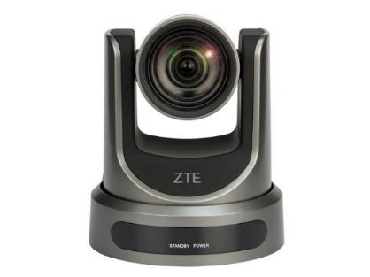 中兴 视频会议摄像机ZXV10 V212DFC 采用1/2.7英寸,207万有效像素的高品质HD CMOS传感器,实现了高灵敏度和高分辨率