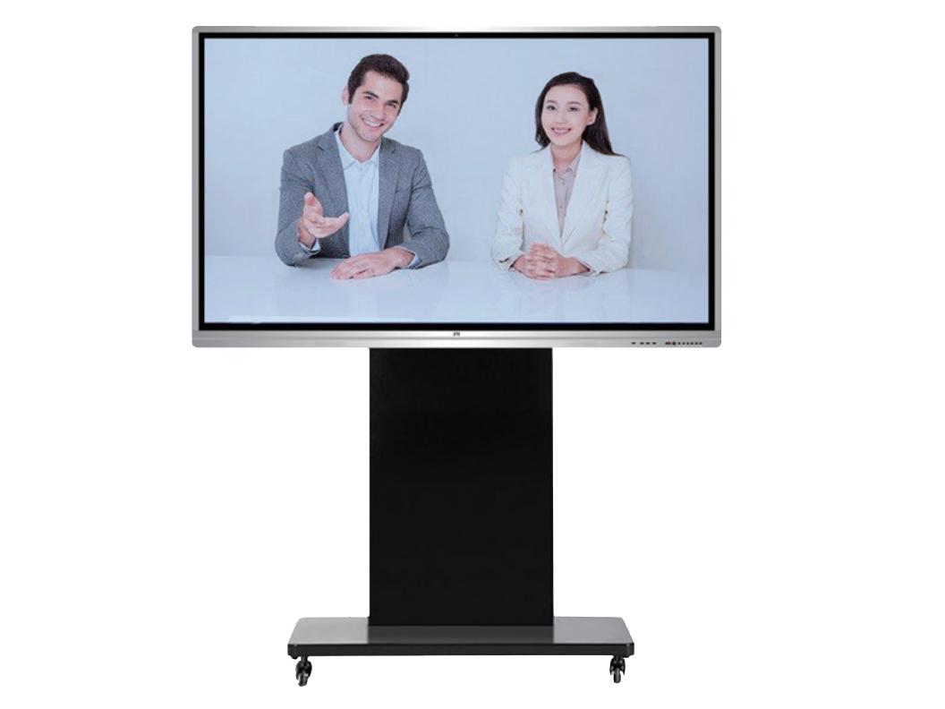中兴 ZXV10 TCS410 智会大屏一体机 融合视频会议终端、移动推车、高清摄像机、电子白板于一体,提供高清视频会议、电子白 板、多屏共享、无线投屏等功能