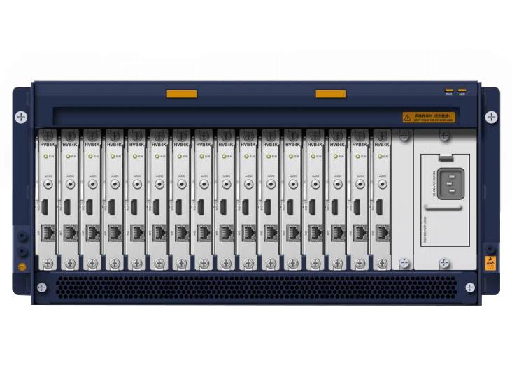中兴 ZXV10 VDB100 高清数字电视墙服务器 采用插板式结构设计,19 英寸标准机架式结构,可以安装在标准机架上。提供 4K、1080p、720p 高清视频输出,并向下兼容 4CIF 等标清图像