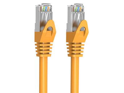 威迅  CAT6A 超六类双屏蔽网线 (老款) 版本CAT6A 外被材质PVC 导体材质无氧铜 屏蔽层铝箔 + 编织 线规27AWG 长度0.5米 /1 米 /1.5 米 /2 米 /3 米 /5 米 /8 米 /10 米 / 12 米 /15 米 /20 米 /25 米 /30 米 /35 米 /40 米