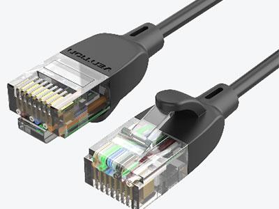 威迅  超六类千兆非屏蔽网线纤细便携款 版本CAT6A 外被材质PVC 导体材质无氧铜 屏蔽层铝箔 + 编织 线规32AWG 接口工艺镀金 线径2.8mm 长度0.5米 /1 米 /1.5 米 /2 米 /3 米 /5 米 /8 米 /10 米 /