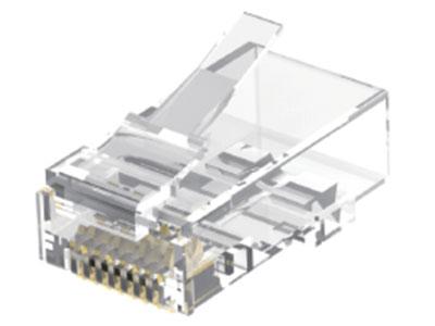 威迅IDG系列超六类非屏蔽水晶头 10 个威迅IDG系列超六类非屏蔽水晶头 50 个 威迅IDG系列超六类非屏蔽水晶头 100个