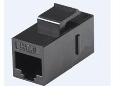 威迅  六类非屏蔽对通模块 接口类型RJ45 外壳材质ABS+PC 卡接导体线规22-26AWG 金针磷青铜表面镀金 IDC簧片磷青铜