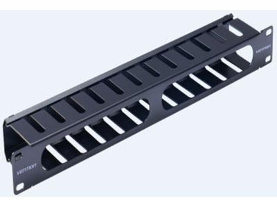 威迅  理线架24口黑色 接口类型24口 外壳材质冷轧钢板 尺寸482.6*76*44.5cm