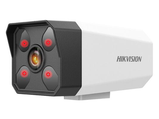 海康威视摄像头200万DS-IPC-B12H2-I/POE带音频监控套装摄像机夜视50米室外防水 室内外防水款 焦距8mm