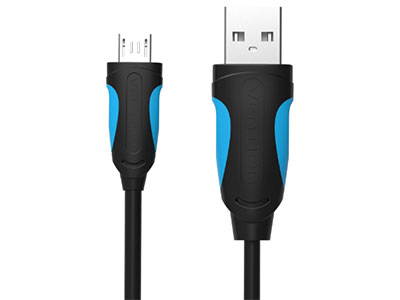威迅  USB2.0 A 公 对 Micro B 公 Cable 版本USB2.0 接头类型USB2.0 A 公 /USB2.0 Micro-B 公 /Type-C 公头 接口工艺镀镍 导体无氧铜 线规28AWG+24AWG 屏蔽层铝箔 外被材质PVC 传输速度480Mbps 长度1 米 /1.5 米 /2 米 /3 米