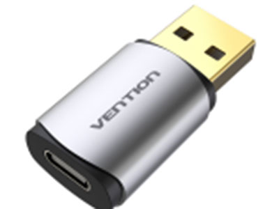 威迅  USB转Type-C声卡 外壳材质铝合金+ABS 接口类型USB2.0 A公、Type-C母 接口工艺镀金 声道2.1声道 接口版本USB2.0 产品尺寸24MM*18MM*11MM