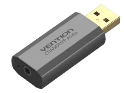 威迅  USB 外置声卡金属款黑色 ( 国美标 ) 版本USB2.0 外壳材质铝合金 接口类型USB2.0 A 公 /3.5mm 母 接口工艺镀金 声道2.1/ 虚拟 7.1