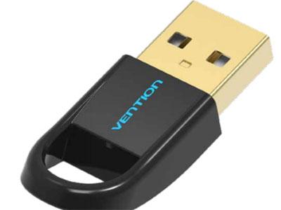 威迅 USB转蓝牙4.0适配器黑色 外壳材质ABS 接头类型USB2.0 A公 接口工艺镀金 传输速度24Mbps