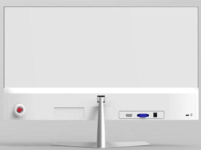 长城大江 D2290T  显示器 IPS无边框,超薄,VGA+HDMI高清接口、超薄.外置电源