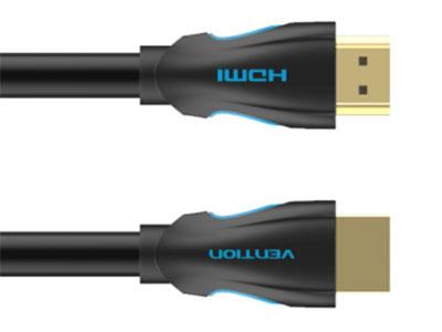 威迅  新款升级水怪HDMI线黑色 版本HDMI 1.4(5M-15M)/HDMI 2.(0.75M-3M) 接头类型HDMI A 公 接口工艺镀金 导体无氧铜 线规0.75-5M:30AWG; 8-10M:28AWG; 15M:26AWG 屏蔽层铝箔 + 铝箔 + 编织 外被材质PVC 线身外径0.75-10M:8.0MM; 15M:9.5M, 长度0.75 米 /1 米 /1.5 米 /2 米 /3 米 /5 米 /8 米 /10 米  /15 米  包装PE袋子/牛皮纸盒