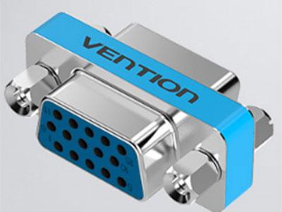 威迅  VGA母头转VGA母头转接头 接口工艺镀镍 外壳材料金属 分辨率1920×1080@ 60Hz 接口类型VGA母头,VGA母头,