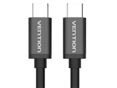 威迅  Type-C 公对公数据线金属款(3A) 版本USB3.1 接头类型Type-C 公 接口工艺镀镍 导体镀锡铜 线规32AWG+22AWG 屏蔽层铝箔 外被材质PVC 传输速度5Gbps 长度1.0 米 /1.5 米