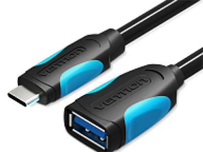 威迅USB3.0Type-COTG数据线黑色0.1米 版本USB3.0 接头类型USB3.0,Type-C 接口工艺镀镍 导体镀锡铜 线规28AWG+24AWG 屏蔽层金属编织+铝箔 外被材质PVC 长度0.1米 /0.25 米