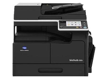 美能达266I复印机 A3 26张,打印,复印,扫描,双面器,双面输稿器 网络