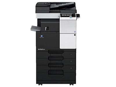 美能达367  36张/分  标配:网络打印 扫描 复印 电子分页 双面器  双面输稿器 支持无线打印