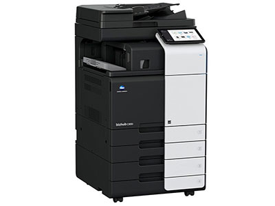 美能达 C300I 彩色复印机 黑彩同速30张/分  标配:网络打印 扫描 复印 电子分页 双纸盒