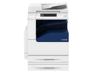 施乐  DC-V C2263CPS 双纸盒 主机标配复印和网络打印和彩色扫描;彩色,速度20页/分钟,两纸盘(500页X2),双面器,自动双面输稿器(最大容纸量110张),系统内存:4GB,硬盘160GB,手触彩屏。