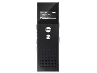 山水  录音笔 迷你微型会议降噪隐形取证超长录音MP3播放器 H-612 16G 黑色