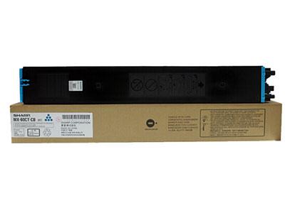 夏普  MX-60CT-CB 原装青色墨粉盒(适用MX-C3081/C3581/4081机型)约24000页