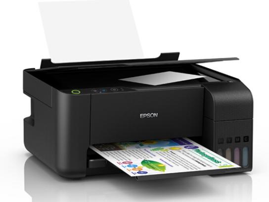 爱普生(EPSON)L3118 A4彩色内置墨仓式一体机 打印 复印 扫描