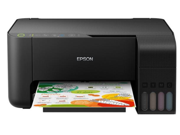 爱普生(EPSON)墨仓式 L3151 微信打印/无线连接 打印复印扫描喷墨一体机