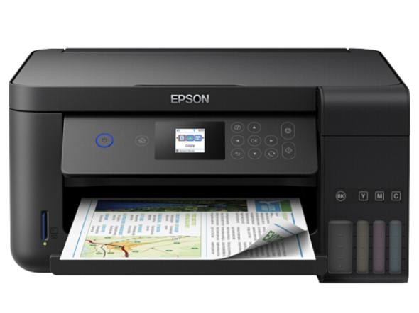 爱普生(EPSON)L4169 墨仓式 微信打印/错题打印机 A4彩色无线多功能一体机