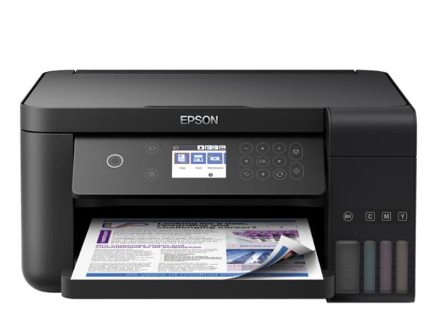 爱普生(EPSON)L6168墨仓式精英款 彩色无线多功能一体机(打印 复印 扫描 wifi 有线 自动双面)