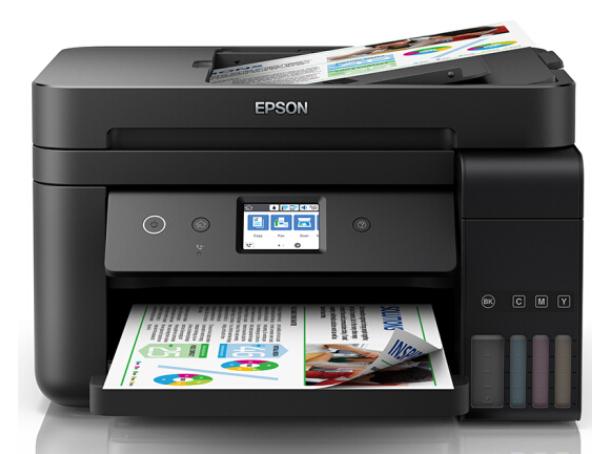 爱普生(EPSON)L6198 全新商务墨仓式旗舰款 彩色无线多功能传真一体机 (打印 复印 扫描 传真 wifi)