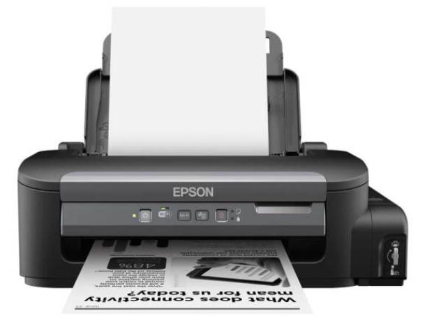"""爱普生(EPSON)M105 黑白无线打印机 墨仓式中的""""商务仓"""""""