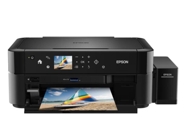 爱普生(EPSON)L850 墨仓式 打印机一体机 (打印/复印/扫描)