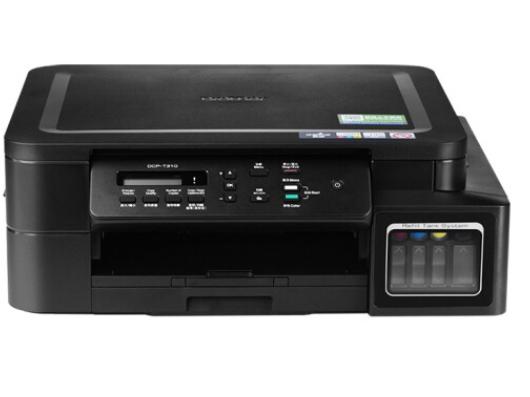 兄弟 DCP-T310 彩色喷墨仓式打印机多功能一体机原装连供家用照片(打印复印扫描)