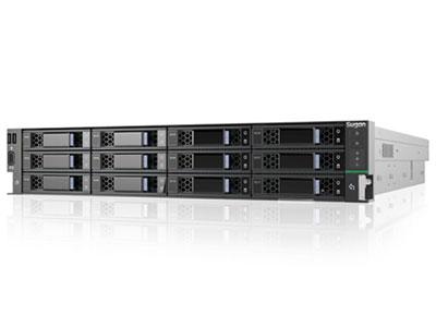 曙光天阔I420-C30(12盘位,渠道机) 1×Intel 3106 1.7G 9.6UPI 11M 8C 85W  1×CPU散热片   1×16GB DDR4内存 1×滑轨   1×550W电源模块高效电源       1×板载SATA、千兆双口RJ45电口网卡   2×横插4盘SAS背板