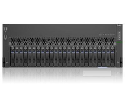 曙光天阔I840-C30服务器(8盘位,渠道机) XEON 5118*2 /散热片*2 /DDR4  16G*2 /竖插08盘12G SAS硬盘背板 /MiniSASHD线缆*2 /550W电源模块*3 /超薄DVD-RW /滑轨 /150cm 国标电源线*3 /板载双口千兆RJ45网卡、双口万兆SFP+光纤网卡 /USB2.0&VGA组件 /LCD显示模块/曙光 8口SAS卡